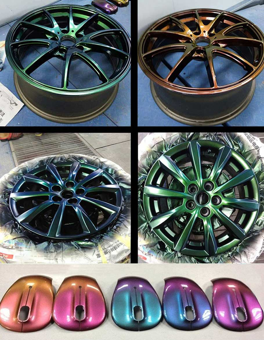 Car DIY chameleon pigment powder