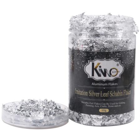 Imitation Silver Leaf Flakes