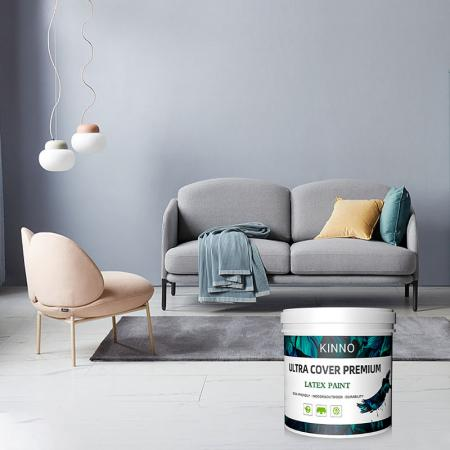 Colorful interior wall paint products